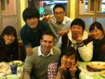 Sharing faith with Korean students