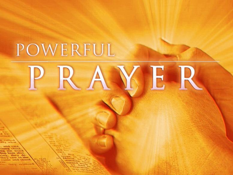 Image result for Powerful Prayer